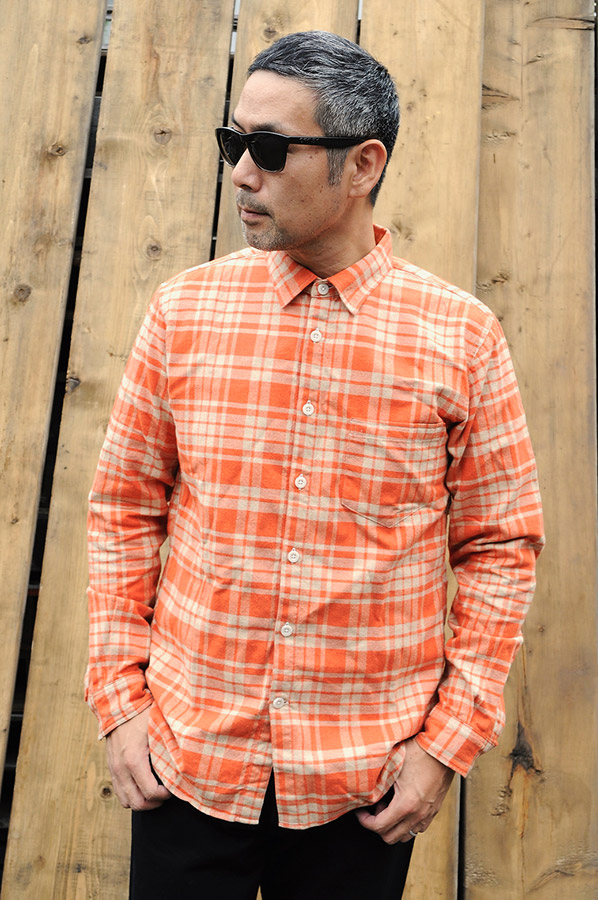 T.N JACK Flannel Check Shits