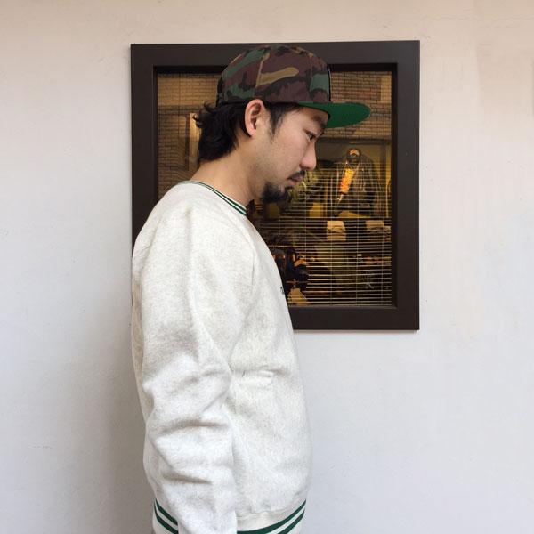 【BACKDROP ORIGINAL】(バックドロップ オリジナル) NO 1 CAP / ナンバー1 キャップ (グリーン カモ)