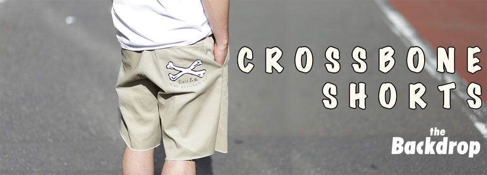 CROSS BONE SHORTS