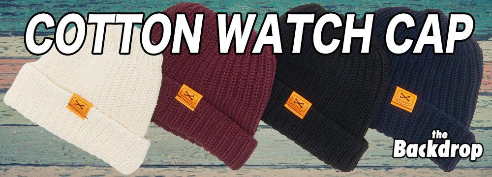 COTTON WATCH CAP