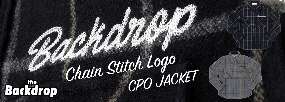 LOGO CHAIN STITCH CPO JACKET